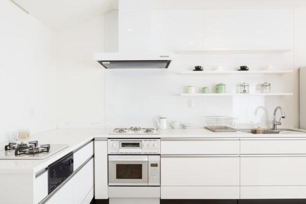 システムキッチンのオーブン