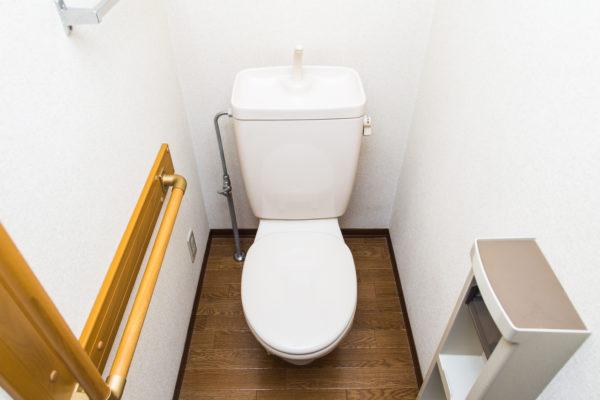 住宅の洋式トイレ