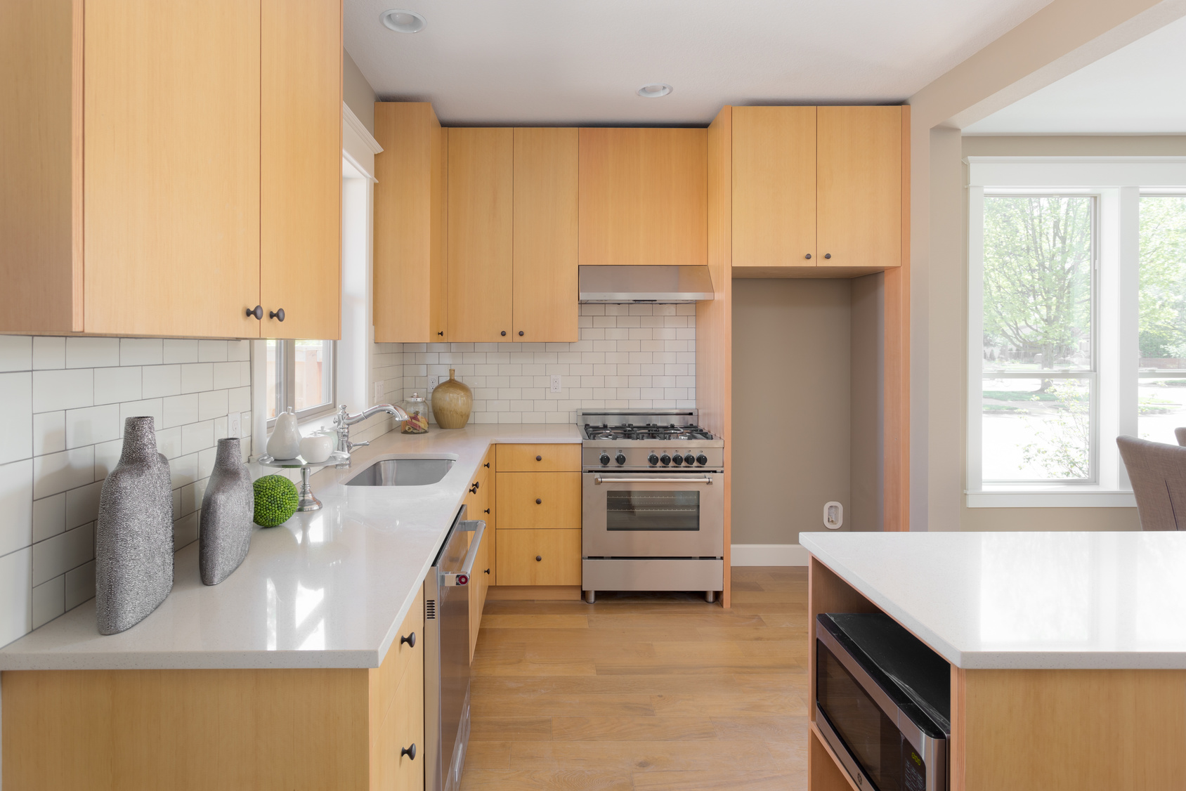 大理石のキッチン