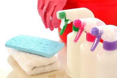 スプレー 雑巾