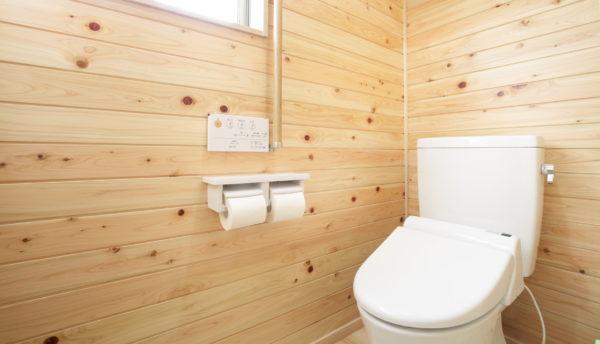 ウォシュレットのトイレ