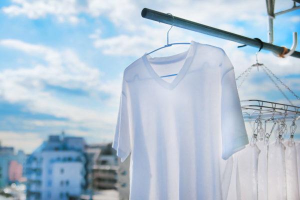 天気の良い日の洗濯物